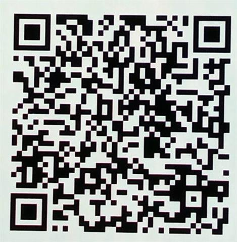 Cropped QR code for the second account